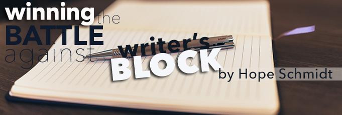 Winning The Battle Against Writer's Block