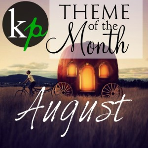 August Theme Blank