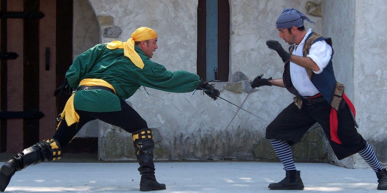 Writing Realistic Sword Fights