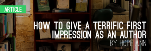 How_to_Give_a_Terrific_First_Impression_as_an_Author_slider