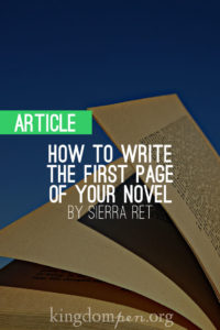 How_to_Write_the_First_Page_of_Your_Novel