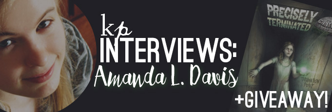 How Do You Get Published as a Young Writer? Interview and Giveaway with Author Amanda Davis