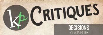 KP Critiques – 38