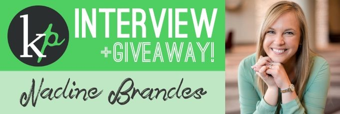 Interview on Dystopian and YA Literature with Author Nadine Brandes (+Giveaway!)