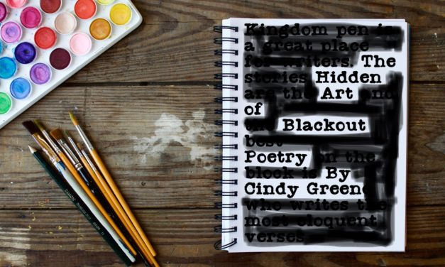 The Hidden Art of Blackout Poetry