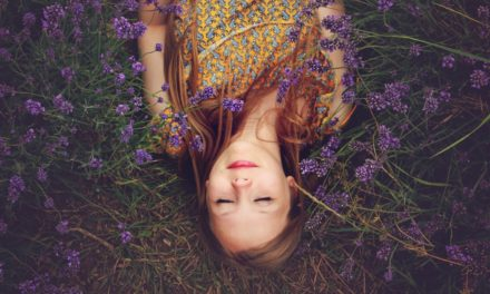 The Girl in the Wildflowers