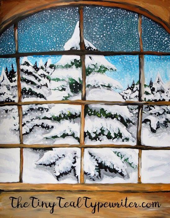 Wintery Window