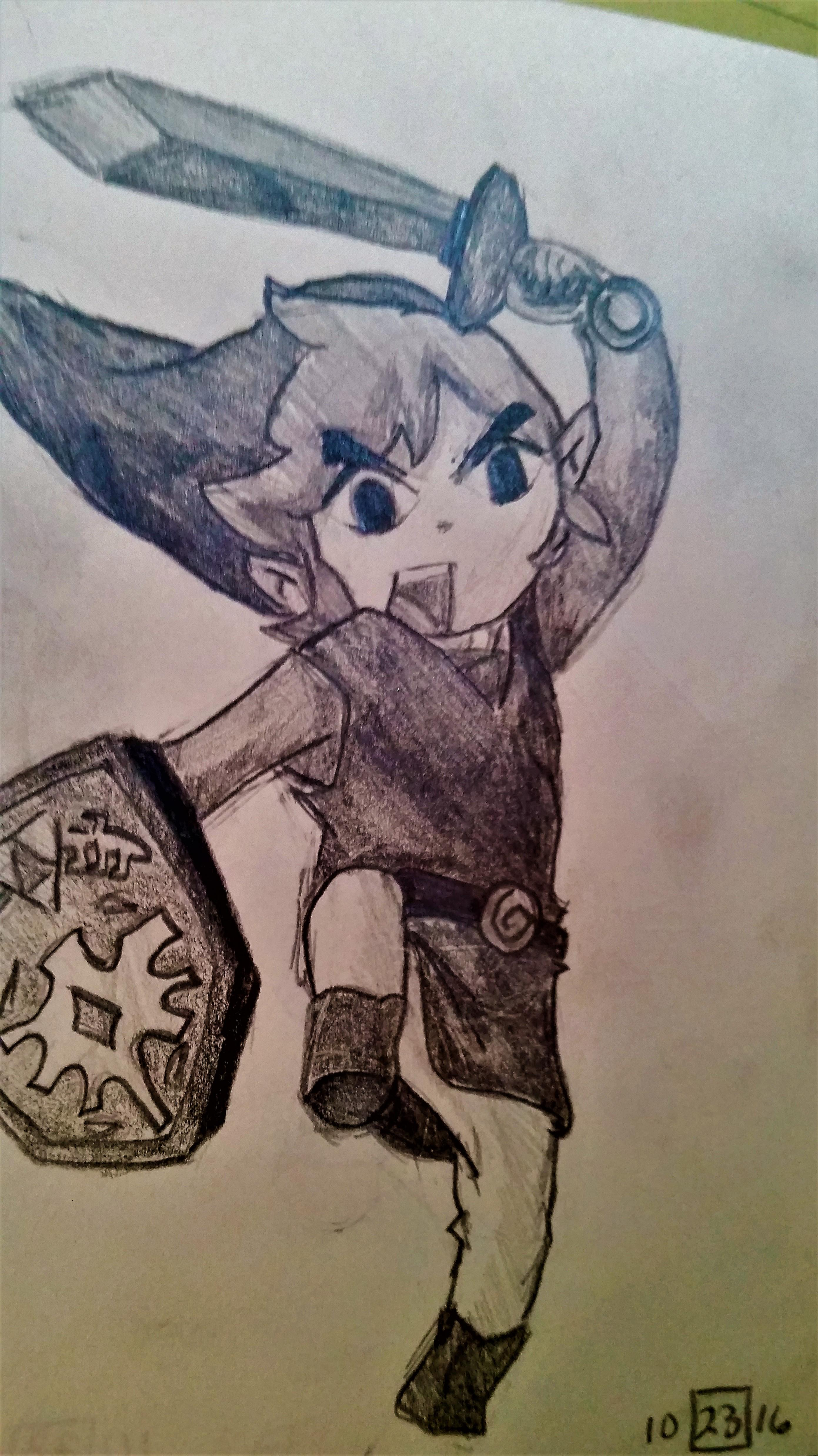 Toon Link by Snapper